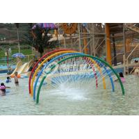China Rainbow Door Aqua Play, Spray Aqua Park Equipment, Fountains Play Structure for Kids Water Park on sale