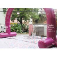 Outside Inflatable Entrance Arch / Inflatable Welcome Arch Door Easy Assembly
