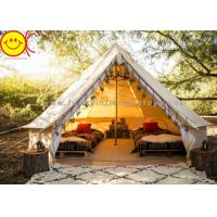 China Multifunctional Outdoor Canvas Inflatable Tent 4m 5m Saraha Camping Tipi Tent on sale