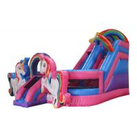 Unicorn Inflatable Combo with Slide Double play bounce house