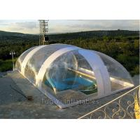 Wholesale Easy Install PVC Bubble Dome Tent Cover , Inflatable Swimming Pool Dome Tent from china suppliers