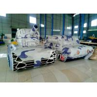 Wholesale Outdoor Laser Tag Equipments Inflatable Tank Inflatable Army Commercial Use for outdoor inflatable paintball field from china suppliers