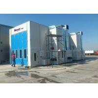 Wholesale Middle Door High Precision Outside Paint Booth , Bus Spray Booth Rental from china suppliers