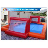 China Custom Made Inflatable Soccer Field For Kids And Adults Inflatable Sports Games on sale