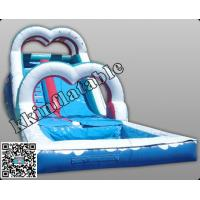 Wholesale Outdoor Waterproof Inflatable Water Slide For Kids , Bouncy Water Slide from china suppliers
