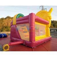 Quality Kids Unicorn Jumping Castle With Cartoon Character Themes / Baby Bouncer Jumper for sale