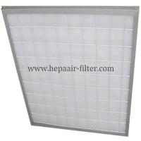 Wholesale Aluminum Frame Panel Primary Pleated Media Filter HEPA Air Conditioning Filters from china suppliers
