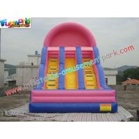 Wholesale Popular Commercial Inflatable Slide Double Line , Giant Slide Toys from china suppliers
