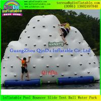 Wholesale Popular Design! Inflatable Iceberg,Water Climbing Games Wholesale/Retail Price from china suppliers