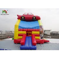 Wholesale PVC Fireproof Commercial Inflatable Bouncers For Kids Jumping Car Houses from china suppliers
