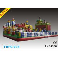 Wholesale MAGICD MUNDO CIRCD 0.55mm PVC Tarpaulin Inflatable Fun City YHFC 005 for Child / Adult from china suppliers