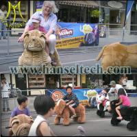 Wholesale Hansel Guangzhou popular entertainment rides toy riding plush animal from china suppliers