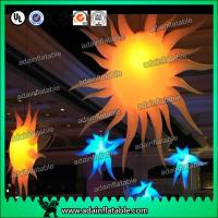 Wholesale 2M 210T Polyester Cloth Customized Infatable Sun With LED Light from china suppliers