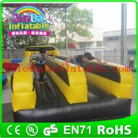 Wholesale Best quality hot sale double lane inflatable bungee run bungee running game from china suppliers