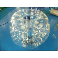 Quality 0.7mm Clear TPU Kids Bumper Ball, Inflatable Body Zorb Ball For Fun for sale