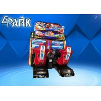 Quality Original Outrun Race Car Arcade Machine With Twins Seat Driven Simulator for sale
