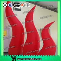 Wholesale 2M High Festival Event Decorative Inflatable Cone With Led Advertisment from china suppliers