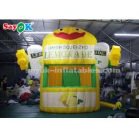 Wholesale Stand Outdoor Sale Tent  Inflatable Lemonade Booth with Air Blower for Promotion from china suppliers