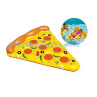 China Summer Water Float Pizza 1.8X1.5M Inflatable Ride-On Float Inflatable Swim Ring on sale