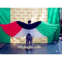 Wholesale 2m Length Colorful Decorative Inflatable Wings for Persons Costumes from china suppliers
