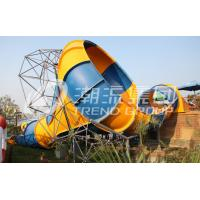 China Big Fiberglass Water Slides Family Water Park Aqua Park Amusement on sale