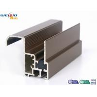 Wholesale Aluminum Construction Profiles Sliding Windows With Coffee Powder Coated / Double Glazed from china suppliers