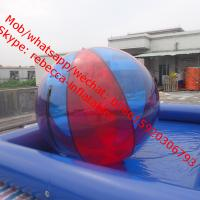 Wholesale InflatableWater Ball, Swimming Pool Game  inflatable water games Water Walking Ballequipment Aqua Sphere Zorb from china suppliers