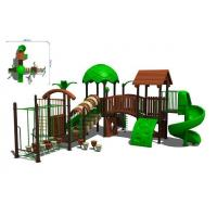 Wholesale outdoor playhouse P-064 from china suppliers