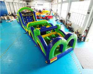 Wholesale 13.2X4.7X3M Inflatables Obstacle Course Adult Bounce House from china suppliers