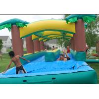 Wholesale Attractive  Adult Inflatable Slip N Slide With Pool Fireproof 3 Years Warrenty from china suppliers