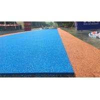 Wholesale Colored Rubber Running Track Surface , EPDM Iaaf Approved Track Surfaces from china suppliers