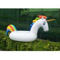 Wholesale Giant Inflatable Unicorn Pool Water Float Adults Children Raft Toy from china suppliers