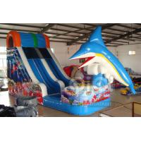 Wholesale Dolphin jumping inflatable water slide from china suppliers