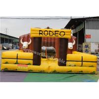 Quality inflatable bull , inflatable mechanical bull , inflatable bull riding machine ,  bull ride for sale