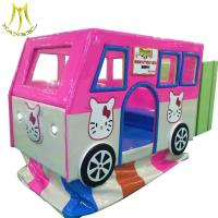 China Hansel indoor soft play equipment amusement park rides for rent electric kids swing buy on sale
