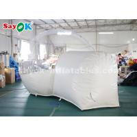 3m PVC Outdoor Inflatable Bubble Tent For Family Camping Backyard CE SGS ROHS