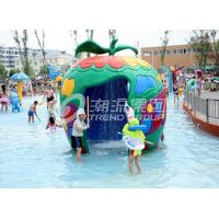 Wholesale Large Fiberglass and PVC Spray Park Equipment For 3 ~ 5 persons from china suppliers