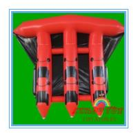 Wholesale Red 0.9mm PVC Inflatable Boat For Sea , Adult Inflatable Fly Fishing Boats(CY-M2728) from china suppliers
