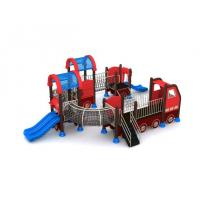 Funny Car Metal Cool Child Kid Slide Outdoor Play Equipment Longlife