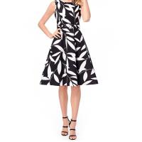 Wholesale Women Sleeveless Casual Print Dress from china suppliers