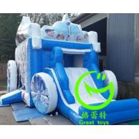China 2016 hot sell  inflatable frozen jumping castle for sale with 24months warranty on sale