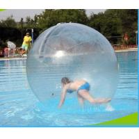 China Good Tension Inflatable Water Walking Ball Colorful Custom For Swimming Pool on sale