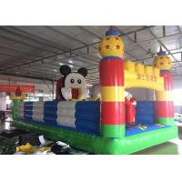 Buy cheap Mickey Mouse Disney Land Inflatable Jumping Castle With Reinforcement Belts from wholesalers