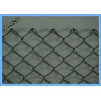 Wholesale PVC Coated Chain Link Fence Fabric , Diamond Welded Wire Fence 5x5cm Openning from china suppliers
