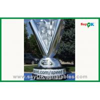 China Advertising Giant Inflatable Trophy Cup Strong 210D polyester cloth on sale