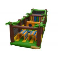 Wholesale Kids Fun Playground Inflatable Obstacle Courses 5 In 1 Bouncer Combo from china suppliers