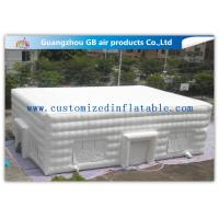 Wholesale Anti - UV Large Inflatable Cube Marquee White Advertising Inflatable Tent from china suppliers