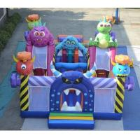 China Large Size Outdoor jumping Inflatable Castle WIith Slide Best Selling  Top Quality Inflatable Bouncy Castle on sale