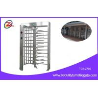 Wholesale RFID Flexible Full Height Turnstile Gate Single Door 304 Stainless Steel Access Control System from china suppliers