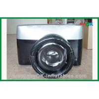 China 210D Polyester Cloth Custom Inflatable Products Giant Inflatable Camera on sale